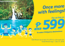 Once More Feelings! with Cebu Pacific Promo for Only P599 ALL IN!
