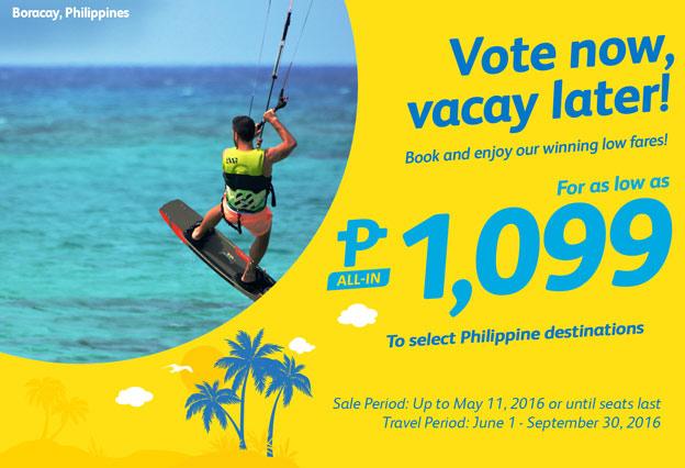 Cebu Pacific Promo vacation