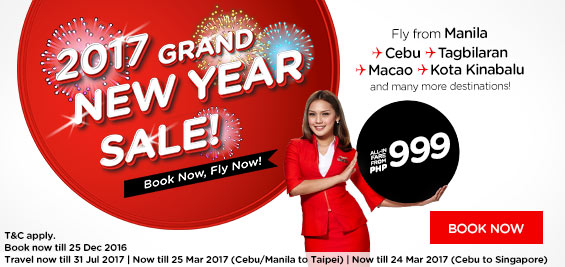 new year sale airasia